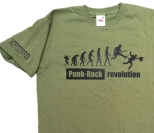 T-Shirt 'Punk-Rock Revolution' Gruen